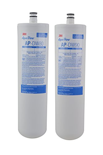Pure Aqua Filter Water (3M Aqua-Pure Under Sink Replacement Water Filter – Model AP-DW80/90)