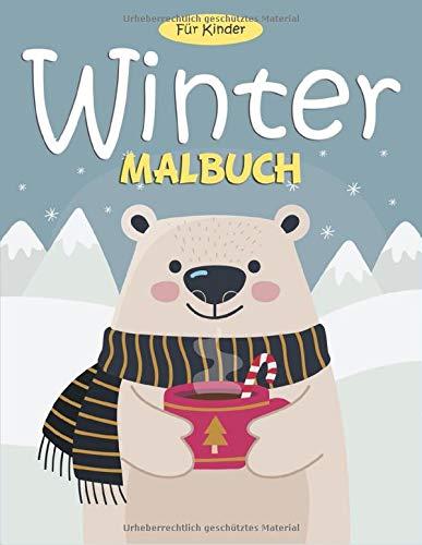 Winter Malbuch Fur Kinder 55 Malvorlagen Winter Malbuch Winter