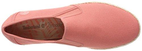 Sea Rosa Para Zapatillas Sin Elvissa crabapple Mujer K41 Cordones Canvas Timberland wUqx754x