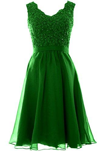 macloth–Robe–Ligne à à–Sans Manches–Femme -  vert - 48