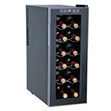 Wc-1271 Thermo Electric Slim Wine Cooler (12 Bottles)