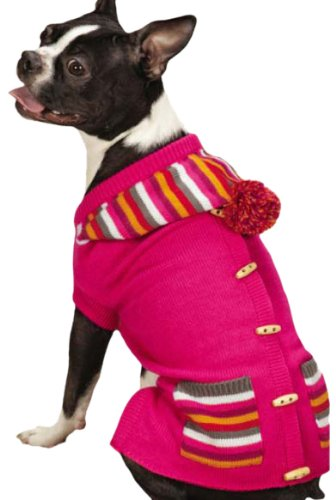 East Side Collection Bright Stripe Sweater Vest for Dogs 16
