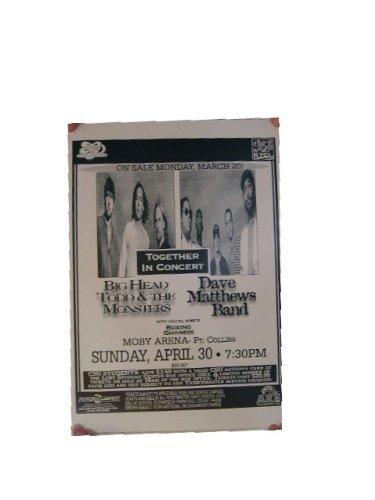 - Dave Matthews Band Poster Handbill The Mathews