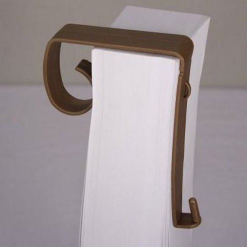 Ring Pew (12 Pieces Of Flexible Brown Pew Bow Or Bouquet Mounts 4 1/4