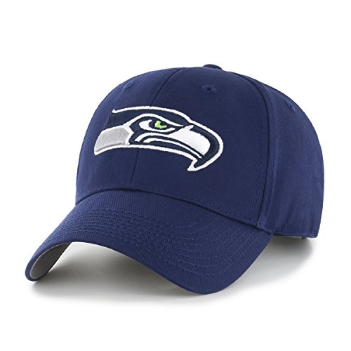 NFL Seattle Seahawks OTS All-Star MVP Adjustable Hat, Light Navy, One Size