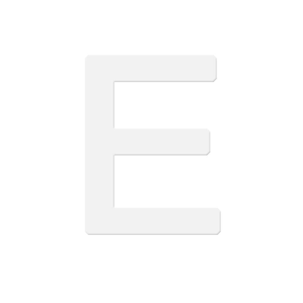 Yamalans 6 inch English Letter Alphabet Cake Mold Fondant Chocolate Decorative Baking Tool E 6 inch