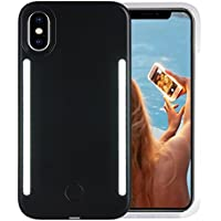 Wellerly iPhone Xs Case, iPhone X Case, LED Illuminated...