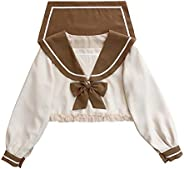 Lolita Blouse for Sweet Teen Girls Japanese Style Cosplay Cute Crop Tops
