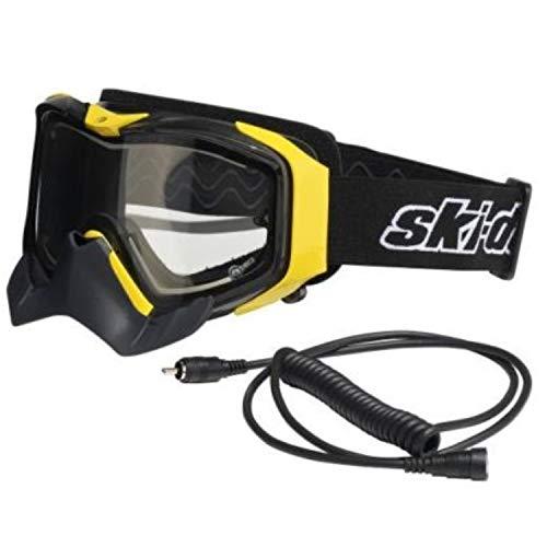 Ski-Doo OEM Adrenaline Electric Wired Goggles Dual Lens, No/Anti-Fog 4478670010