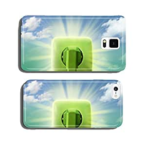 Green energy cell phone cover case iPhone5