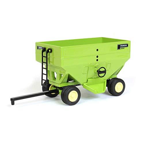 Spec Cast 1/64 Parker Green Gravity Wagon Dual Wheels Cust-1597 (Gravity Wagon)