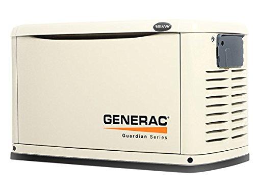 Generac Guardian 16kW Standby Generator NG/LP Single Phase Steel | 6459