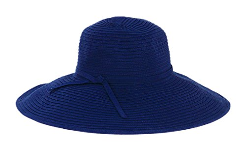 San Diego Hat Company Women's Ribbon Braid Large Brim Hat - Once Size, - Braid Hat