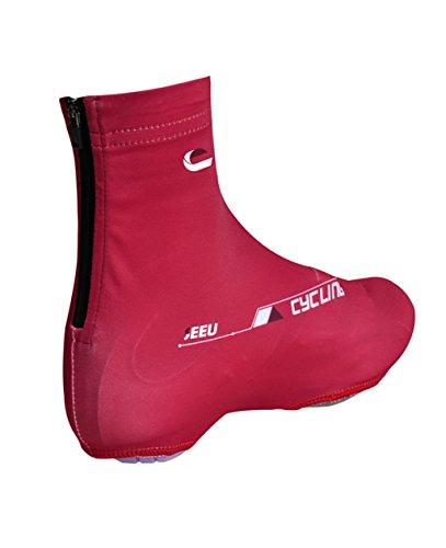 Covers Women Cycle Shoe Men Windproof Mountain Bike Red Bicycle Shoe Covers Dry Quick Anti Cover Shoe Slip SUfw0Uxq