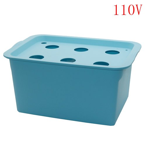 - Big Green Store 1 Sets 220v/110v Plant Site Hydroponic Systems 6 Holes Nursery Pots Soilless Cultivation Plant Seedling Grow Kit