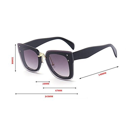 B Eyewear de travel UV Anti A beat mujer Gafas sol Alger Driving personalidad Street 7Pgzqw