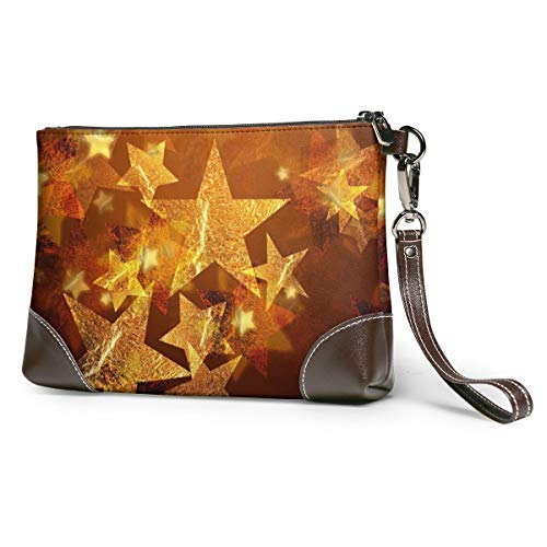 Women's Leather Wristlet...