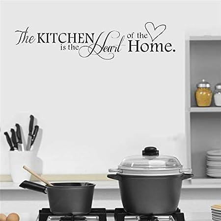 wukongsun Kitchen is Home Heart Letter Pattern Etiqueta de la ...