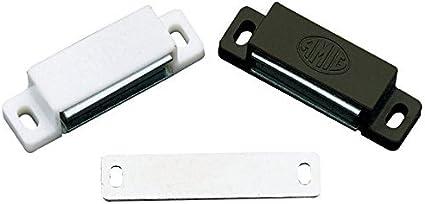 Mobili Magnetsch/äpper porta magnetica magnete T/ürveschlu/ß bianco oppure marrone 5 kg