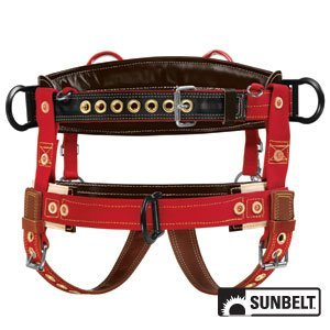 - SUNBELT- Saddle, Weaver, Floating Dee Extra Wide Back, Floating Dee, Medium.