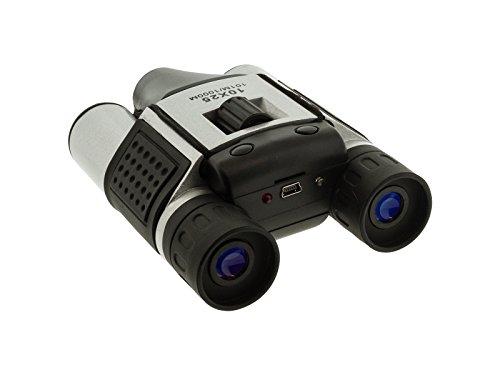 BrickHouse Security DT08 HD 10x25mm Digital Binocular w/DVR