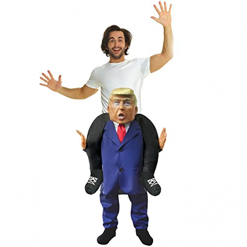 Adult Carry Me Piggy Back Presidential Leader Piggyback Costume - With Stuff Your Own Legs