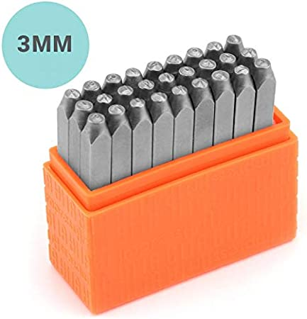 ImpressArt Basic Typewriter 3mm Lowercase Letter Metal Stamps