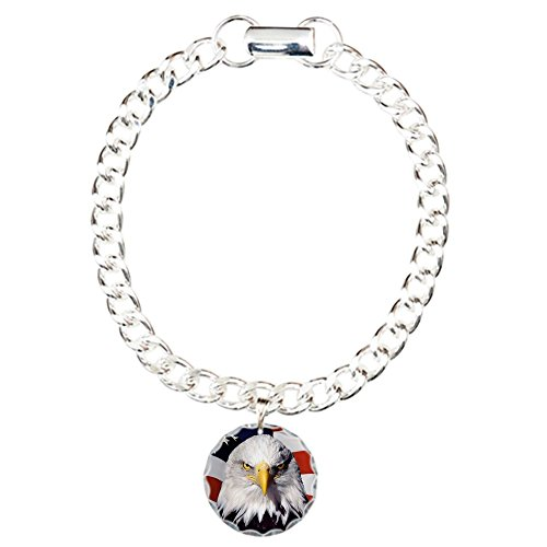charm-bracelet-bald-eagle-on-us-american-flag
