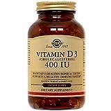 Solgar – Vitamin D3 (Cholecalciferol) 400 IU, 250 Softgels