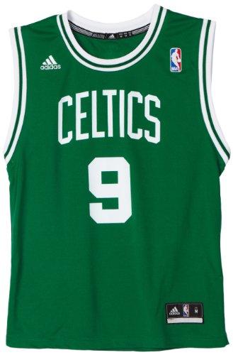 (NBA Boston Celtics Rajon Rondo Replica Road Youth Jersey, Green, Medium)