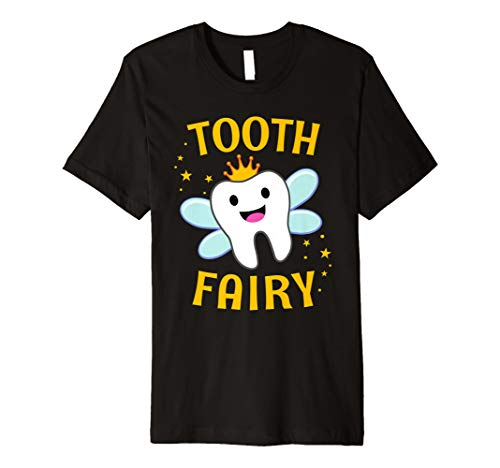 Tooth Fairy Halloween Costume T-Shirt for Women Men