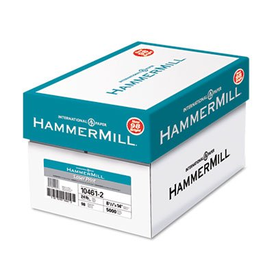 Laser Print Office Paper, 98 Brightness, 24lb, 8-1/2 x 14, White, 500 Sheets/RM, Total 10 RM, Sold as 1 Carton by Hammermill (Image #4)
