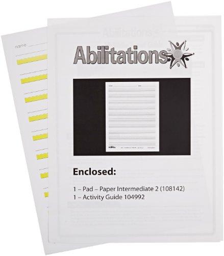 - Abilitations Hi-Write Intermediate Paper, Level 2, Pack of 100