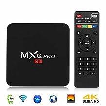 Android 6.0 TV Box, MXQ PRO Amlogic S905X Quad-core 64-bit 1G 8G UHD 4K 60fps H.264 Media Center Smart OTT TV BOX