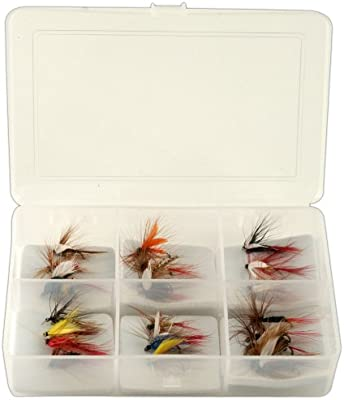 South Bend Fly Popular Assortment Fishing Lures 20 Pack