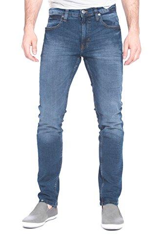 paperdenim&cloth Men Striaght Leg Stretch Cotton Spandex Designer Denim Jeans - 34/30