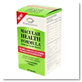 EyeScience Macular Health Formula Advanced Ocular Vitamin - Containing Lutein, Zeaxanthin, Billberry, and Vitamins C, D, E, and B6 - Packaging May Vary