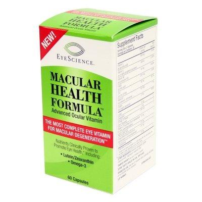 EyeScience maculaire santé formule avancée vitamine oculaire