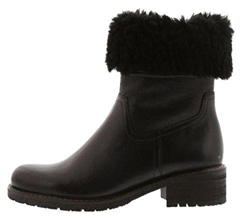 Gabor Womens 76.090.47 Nubuck Boots Black