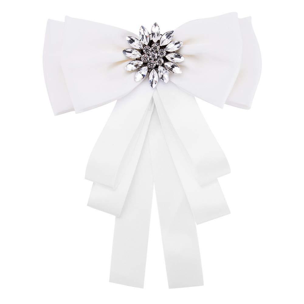 Gimitunus Corbata de Lazo de Las Mujeres, Big Ribbon Bow Brooch ...