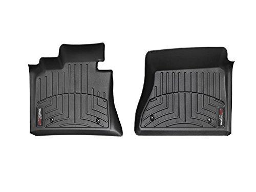 WeatherTech - 445661 - 2014 Jeep Cherokee Black 1st Row FloorLiner