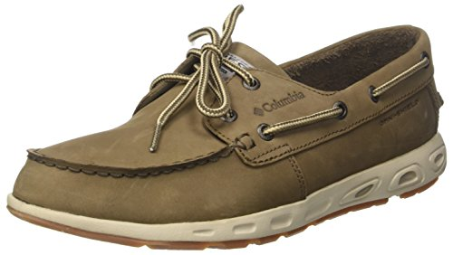 Columbia Scarpe Casual da Uomo, Bonehead Vent Leather PFG Marrone (Mud, Stone 255)