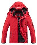 SUOKENI Men's Waterproof Warm Winter Snow Coat