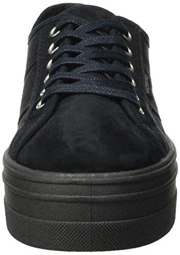 Victoria Sneaker Blucher Noir Antelina Nero Donna Plataforma Negro 1f1rAnq