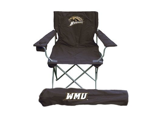 - Rivalry NCAA Western Michigan Broncos Folding Chair With Bag