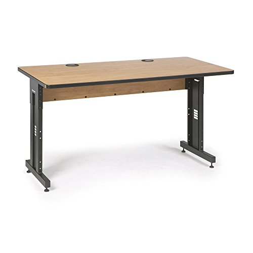 60'' W x 30'' D Training Table - Caramel Apple by Kendall Howard
