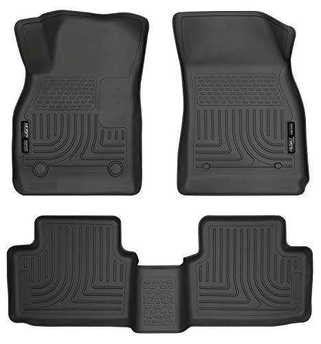 Husky Liners Front & 2nd Seat Floor Liners Fits 13-15 Malibu/16-16 Malibu Limited