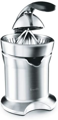 Breville 800CPXL Die-Cast Stainless-Steel Motorized Citrus Pre