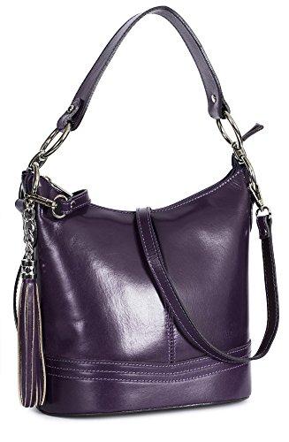 Violet femme Sacoches Big Handbag Shop xqA1nTI