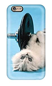 Tpu Case Cover Compatible For Iphone 6/ Hot Case/ Funny Cat
